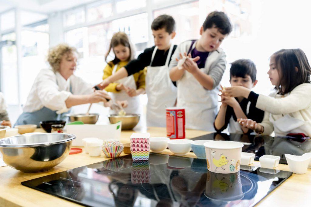 Cursos de Cocina para niños madrid